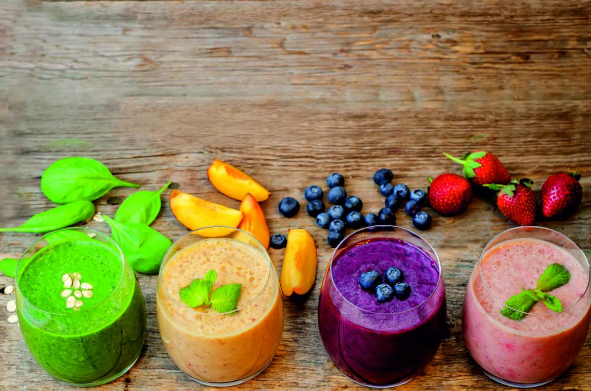 Meriendas con fruta