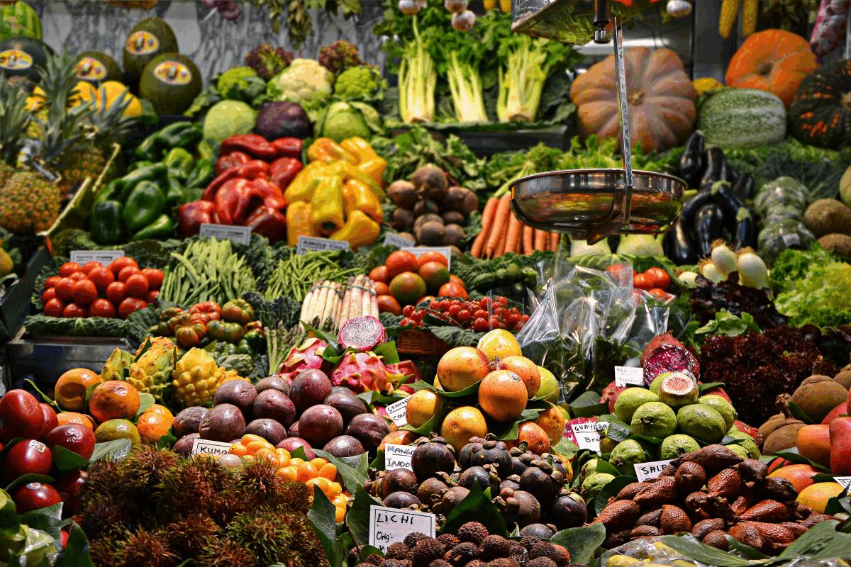 Más frutas y verduras como propósito de año nuevo